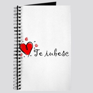 """I Love You"" [Romanian] Journal"